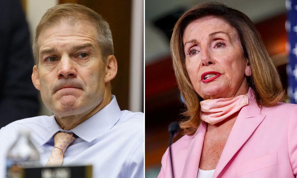 Jim Jordan, Nancy Pelosi